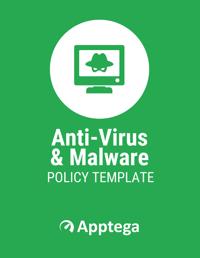 Anti-Virus Malware Management Policy Template