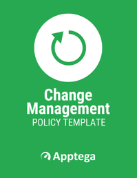 Change Management Policy Template