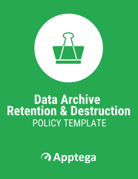 Data Archive Retention and Destruction Policy Template