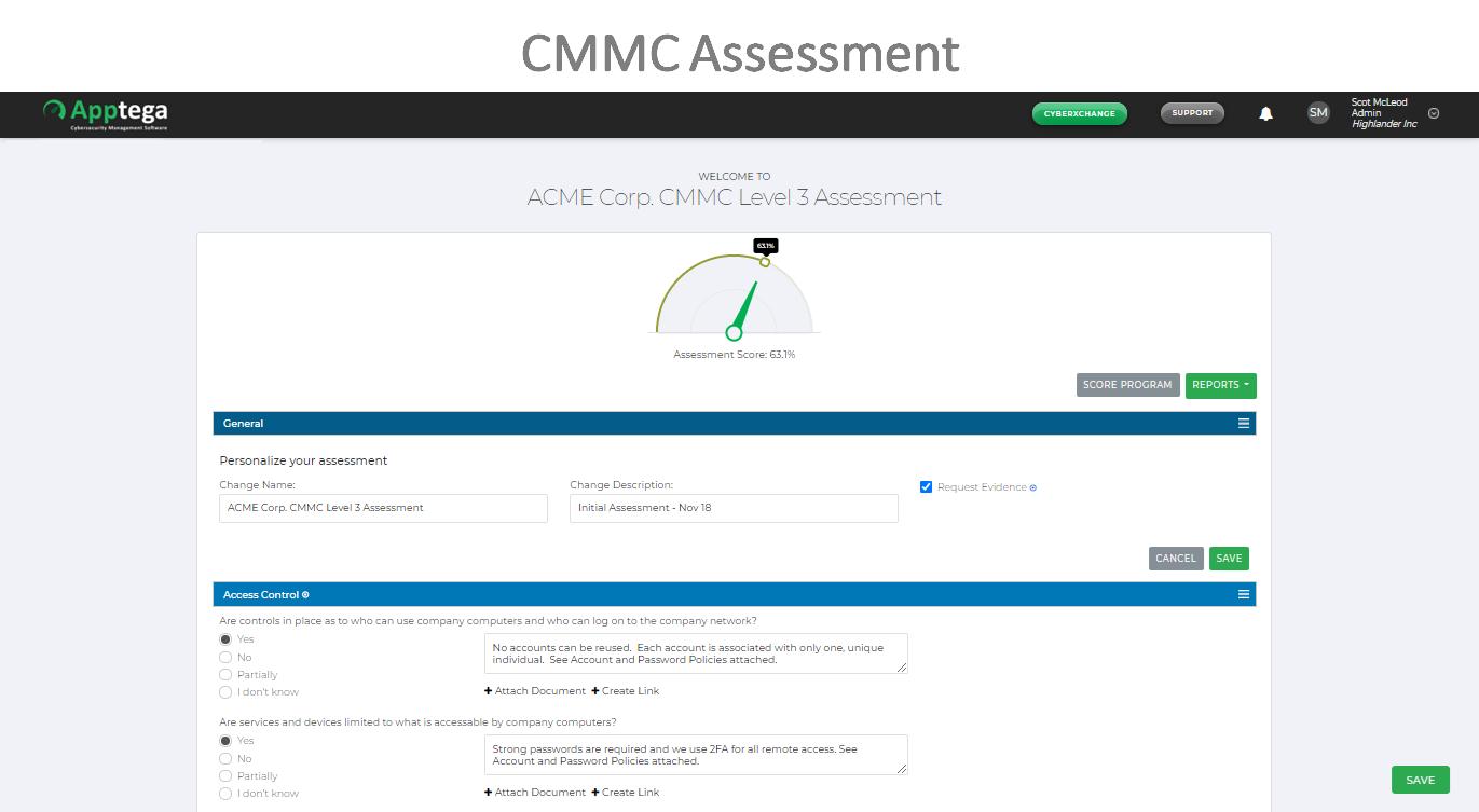 CMMC Assessments
