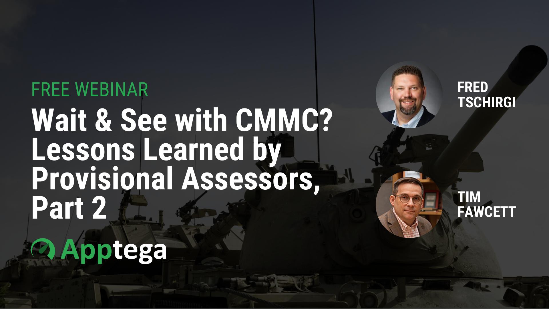 CMMC Webinar Background