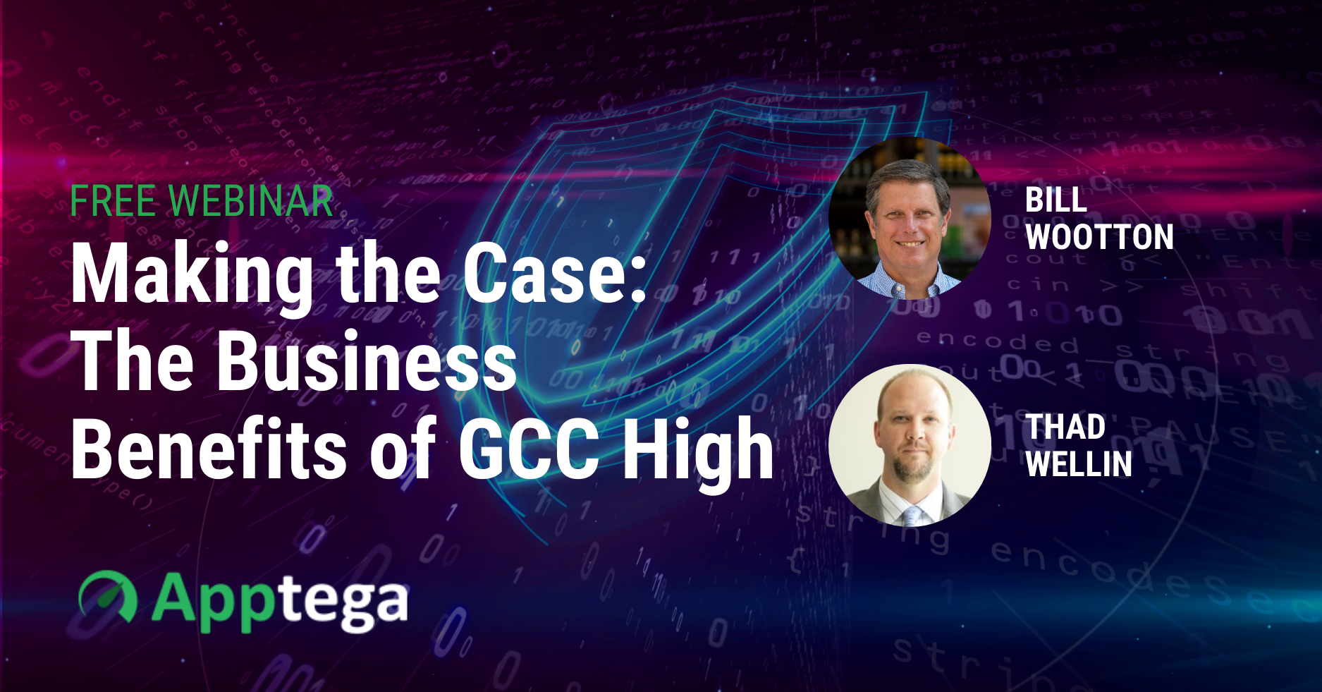 GCC High Webinar Image