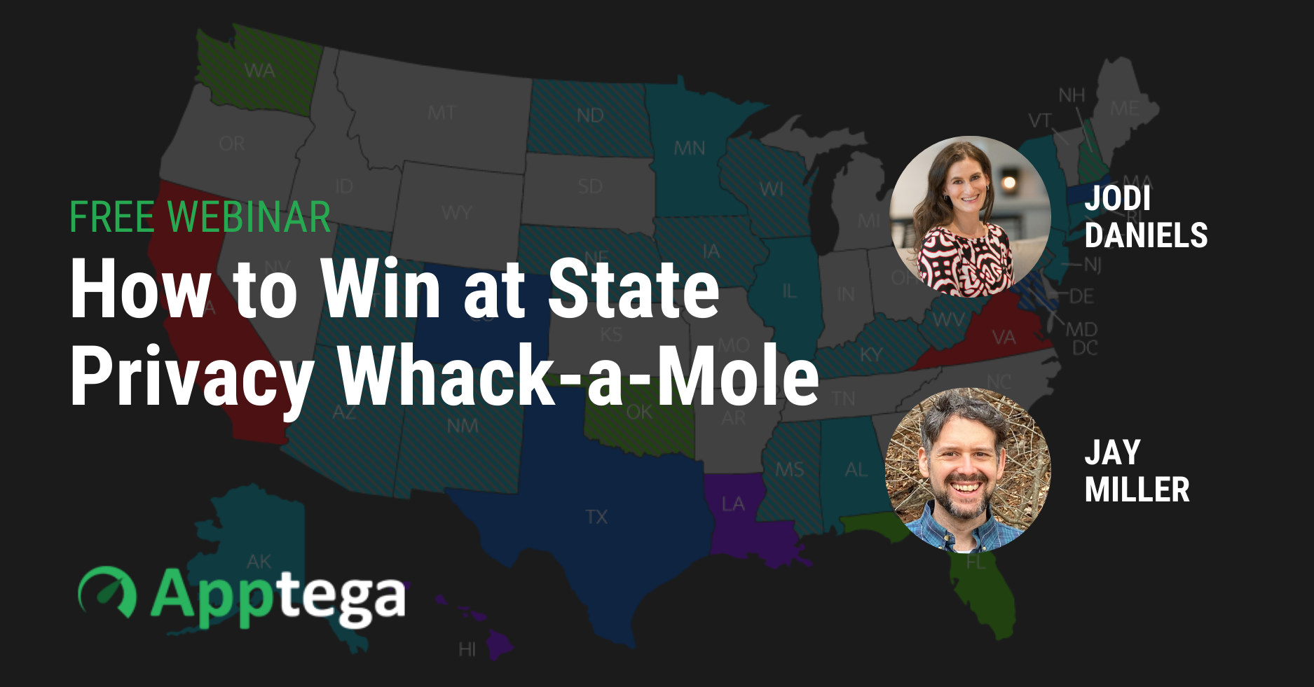How to Win at State Privacy Whack-a-Mole Webinar Image