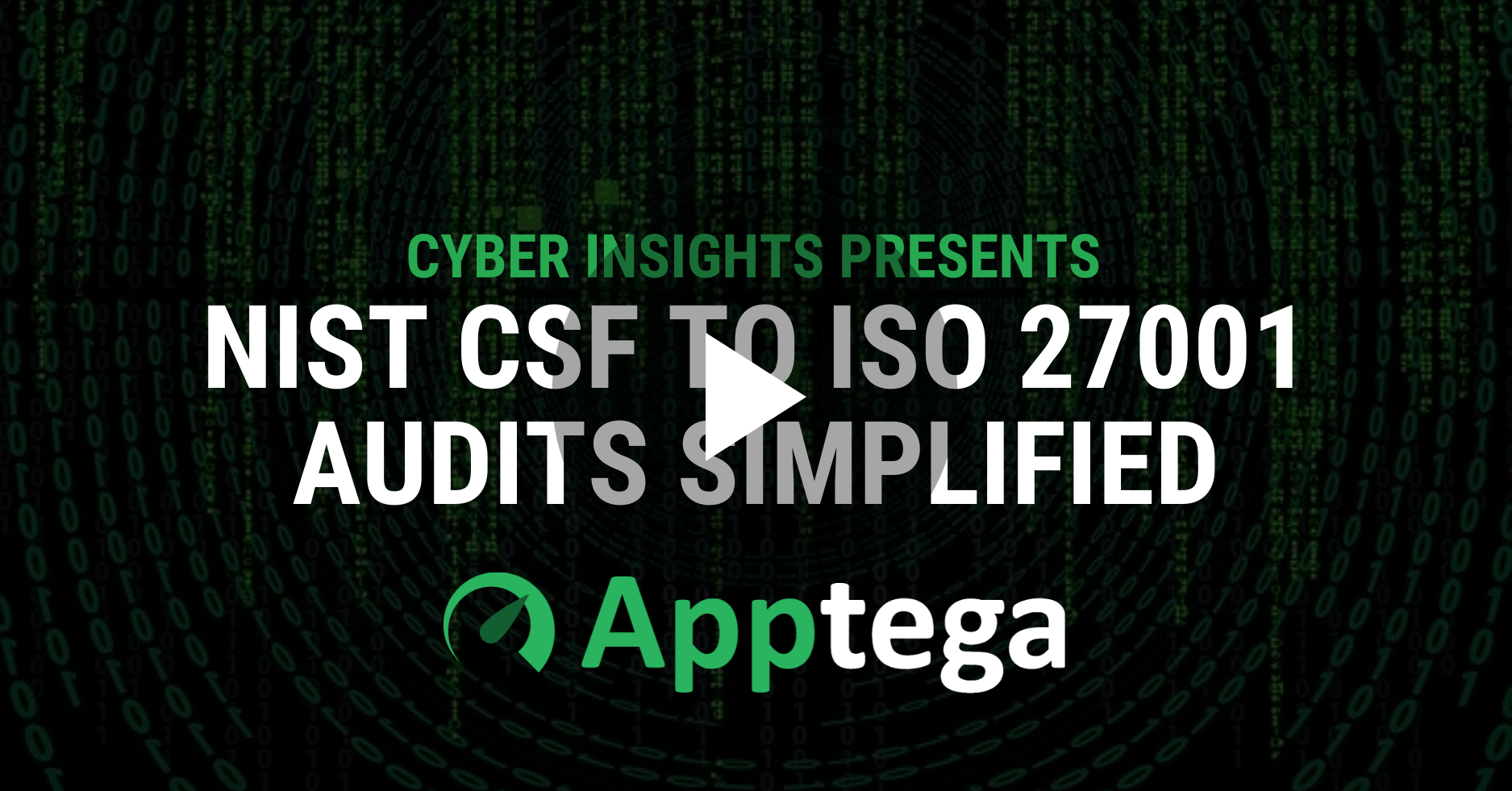 NIST CSF to ISO Audits with play
