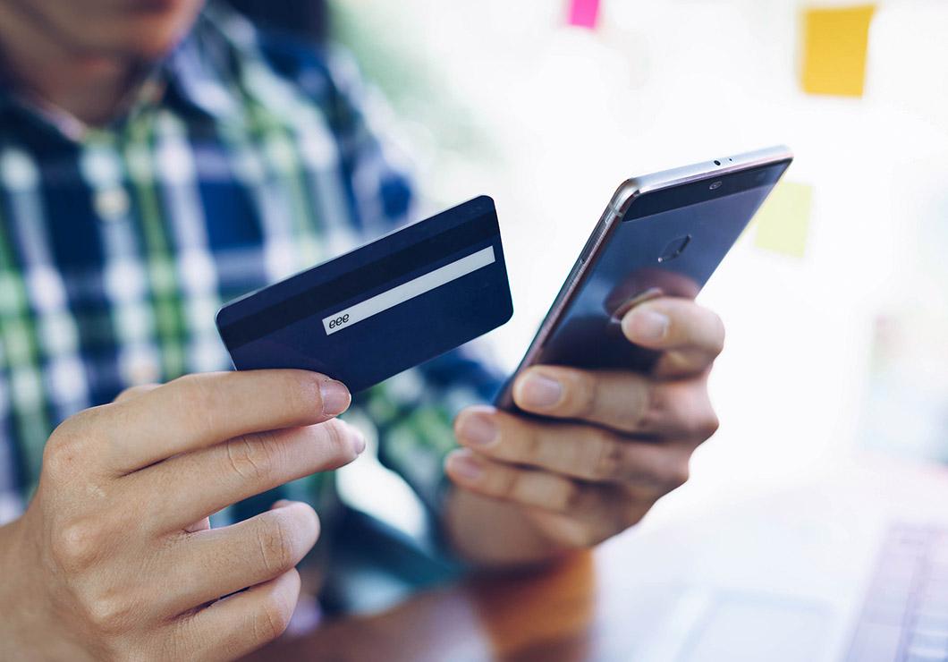 Credit Card Phone Image
