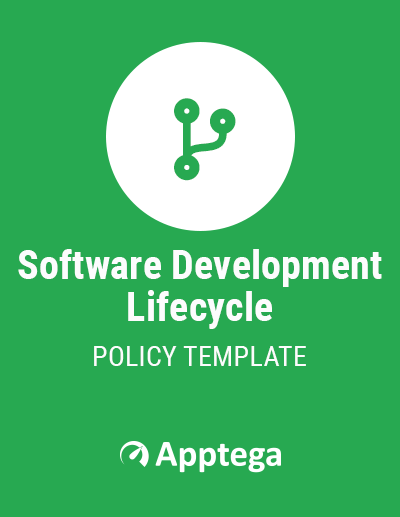 Software Development Lifecycle Policy Template