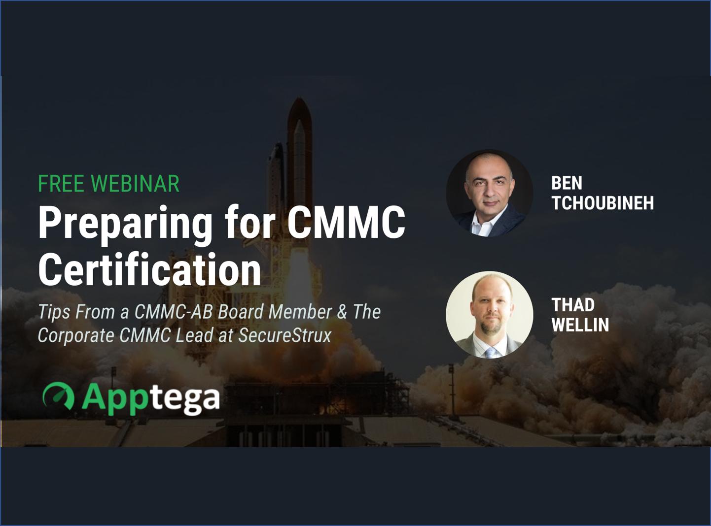 Preparing for CMMC Webinar