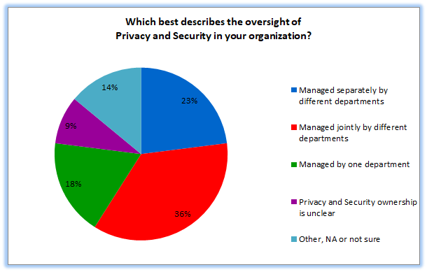 Privacy and Security Oversight Pie Chart
