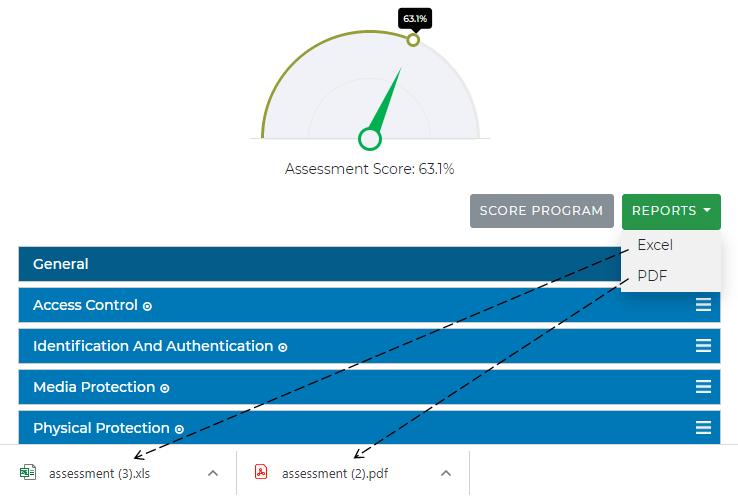 CMMC Assessments Reports