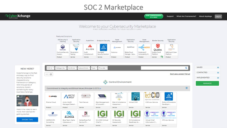 SOC 2 Marketplace
