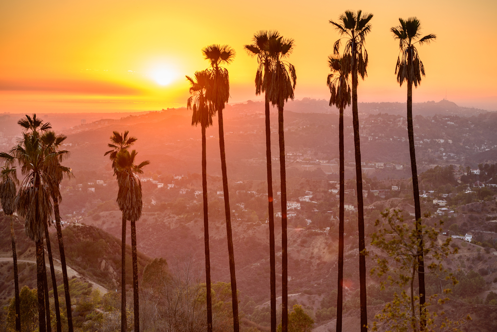 Griffith Park, Los Angeles, California, USA.
