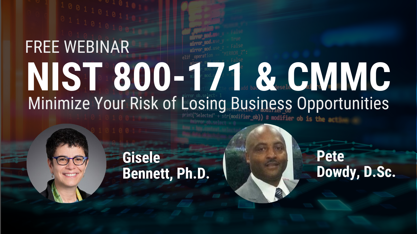 NIST 800-171 & CMMC Minimize Risk