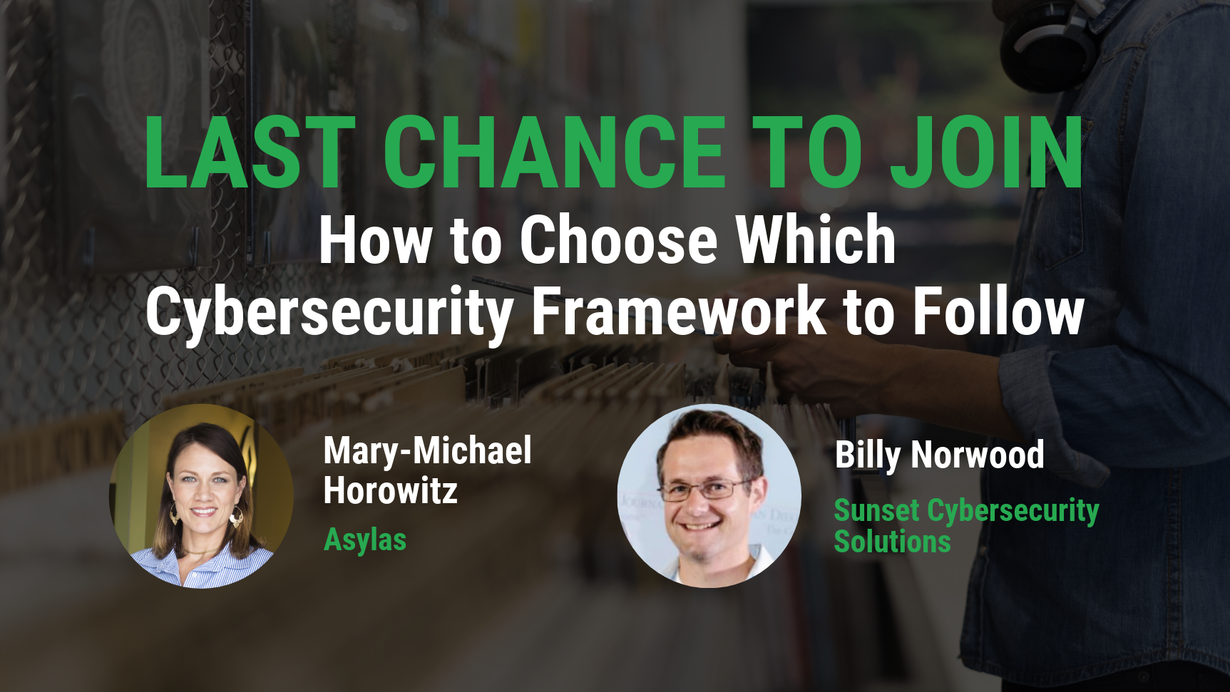 Choosing a cybersecurity framework