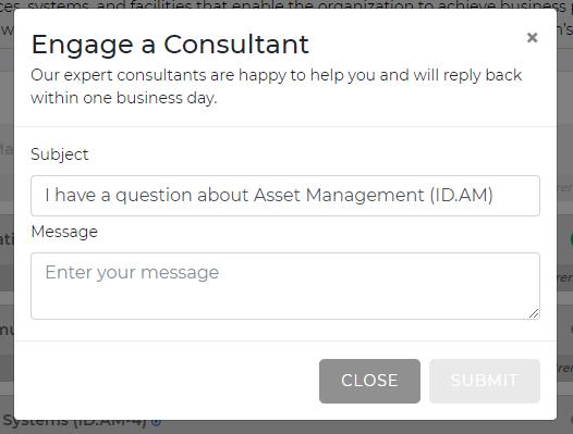 Engage an Apptega Consultant